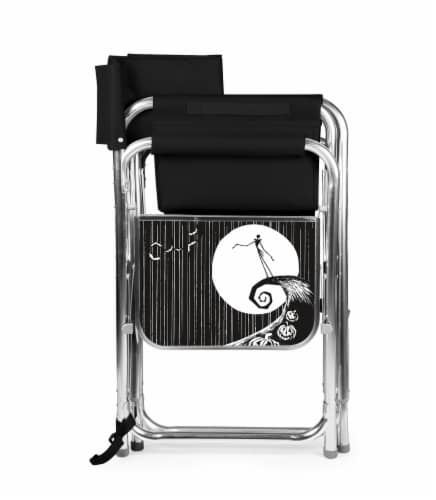 Disney Nightmare Before Christmas Jack - Sports Chair, Black Perspective: back