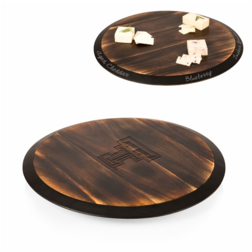 Texas Tech Red Raiders - Lazy Susan Serving Tray Perspective: back
