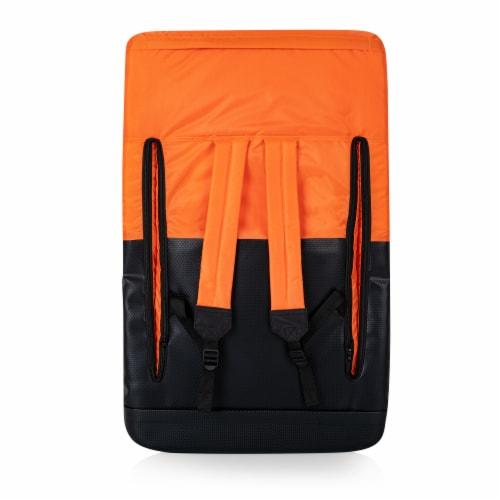 Ventura Portable Reclining Stadium Seat, Orange Perspective: back