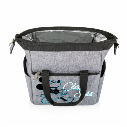 Disney Mickey Mouse - On The Go Lunch Cooler, Heathered Gray Perspective: back