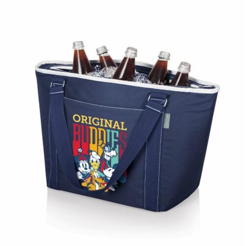 Disney Mickey Fab 5 - Topanga Cooler Tote Bag, Navy Blue Perspective: back