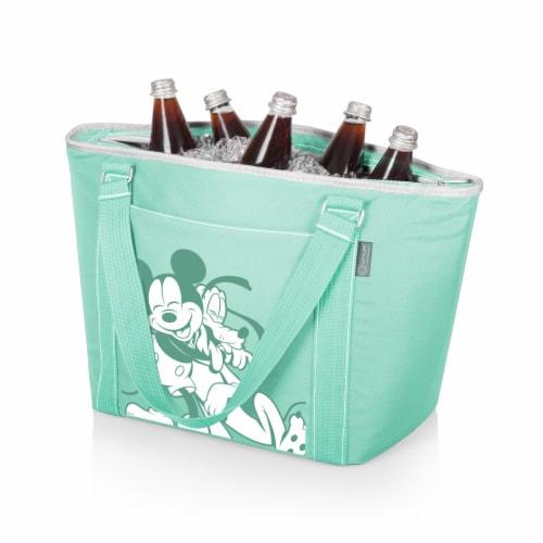 Disney Mickey & Pluto - Topanga Cooler Tote Bag, Teal Perspective: back