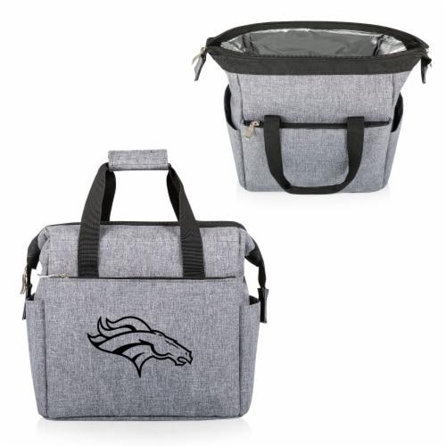 Denver Broncos - On The Go Lunch Cooler Perspective: back