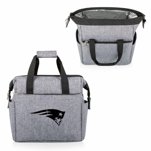 New England Patriots - On The Go Lunch Cooler Perspective: back