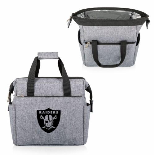 Las Vegas Raiders - On The Go Lunch Cooler Perspective: back