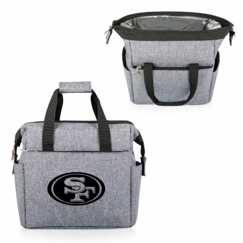 San Francisco 49ers - On The Go Lunch Cooler Perspective: back