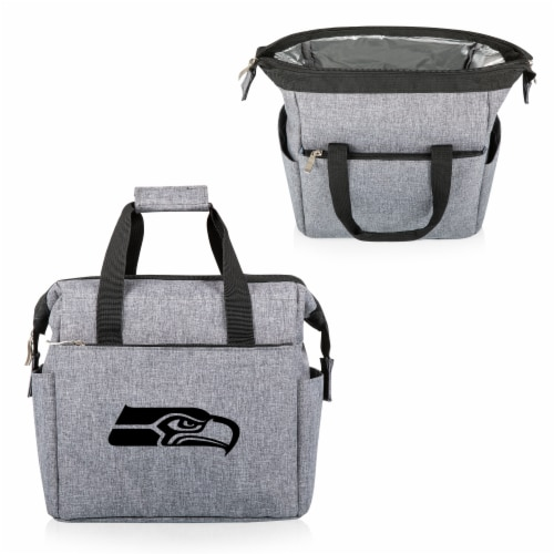 Seattle Seahawks - On The Go Lunch Cooler Perspective: back