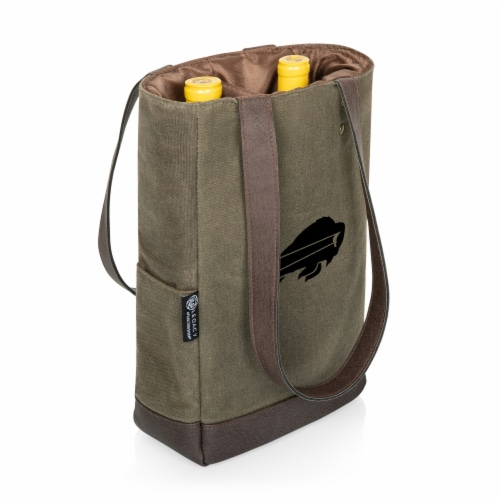 Buffalo Bills - 2 Bottle Insulated Wine Cooler Bag Perspective: back