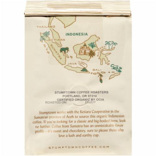 Stumptown Coffee Organic Indonesia Single Origin Whole Bean Coffee Perspective: back
