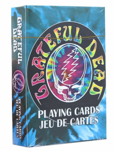 Grateful Dead Tie Dye Playing Cards | 52 Card Deck + 2 Jokers Perspective: back