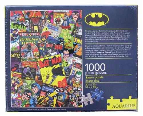 DC Comics Batman Comic Collage 1000 Piece Jigsaw Puzzle Perspective: back
