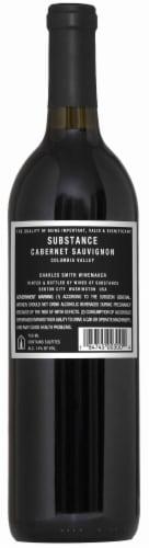 K Vintners Wines of Substance Cabernet Sauvignon Perspective: back