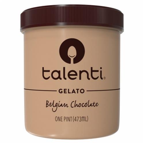 Talenti Belgian Chocolate Gelato Perspective: back