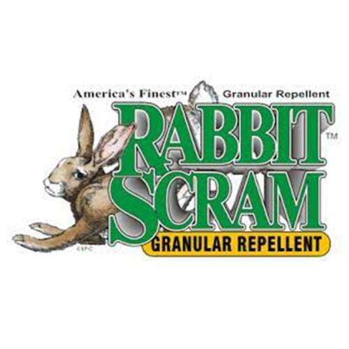EPIC Rabbit Scram Outdoor Natural Granular Animal Repellent, 2.5 Lb Container Perspective: back
