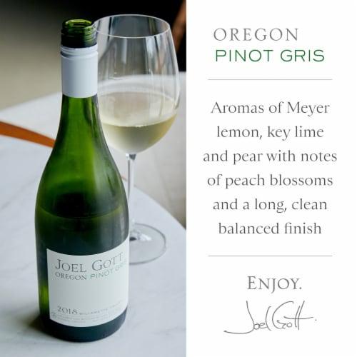 Joel Gott Pinot Gris White Wine Perspective: back