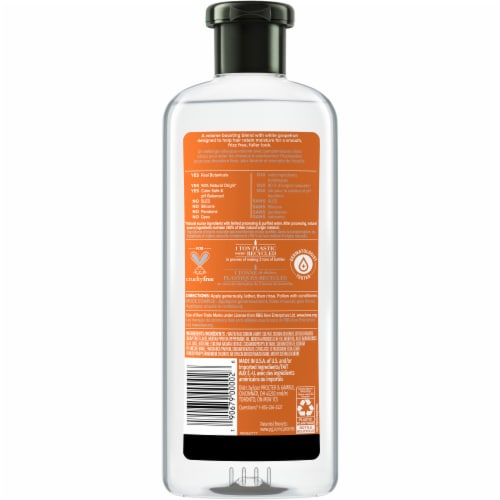 Herbal Essences Bio:Renew Naked Volume White Grapefruit & Mosa Mint Shampoo Perspective: back