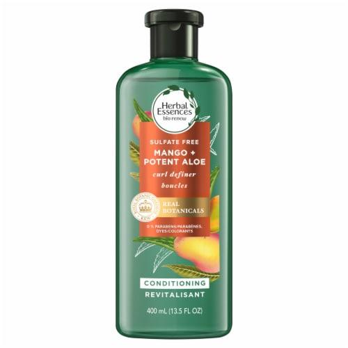 Herbal Essences Bio:Renew Potent Aloe + Mango Curl Definer Conditioner Perspective: back