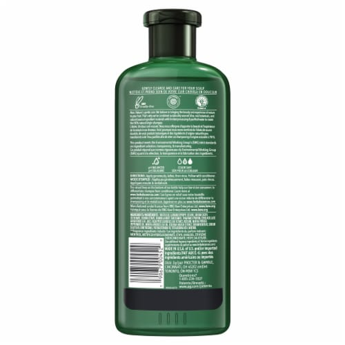 Herbal Essences bio:renew Aloe + Eucalyptus Sulfate Free Scalp Balance Shampoo Perspective: back