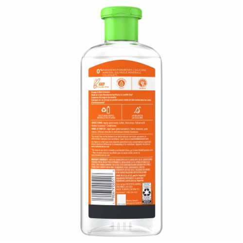 Herbal Essences Orange & Mint Daily Detox Volume Shampoo Perspective: back