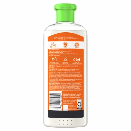 Herbal Essences Orange & Mint Daily Detox Volume Conditioner Perspective: back