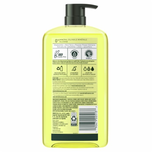 Herbal Essences Shine Collection Chamomile Shampoo Perspective: back