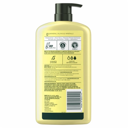 Herbal Essences Shine Collection Chamomile Conditioner Perspective: back