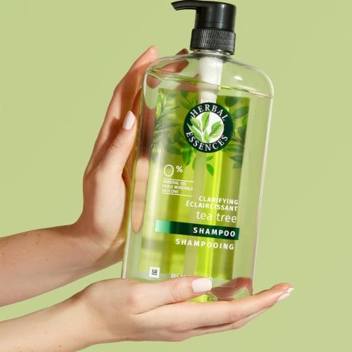 Herbal Essences Clarifying Tea Tree Shampoo Perspective: back