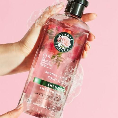 Herbal Essences Rose Hips Smooth Shampoo Perspective: back