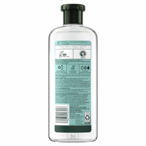 Herbal Essences Coconut Water & Jasmine Shampoo Perspective: back