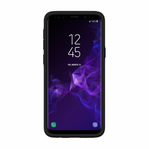 Incipio Elan Cell Phone Case for Samsung Galaxy S9 - Frost/Black Perspective: back