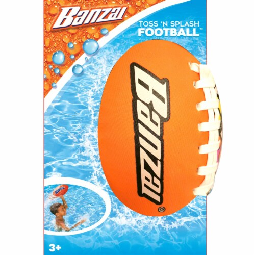 Banzai Toss 'n Splash Football - Assorted Perspective: back