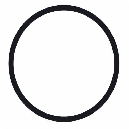 Benzara Round Wall Mirror Perspective: back