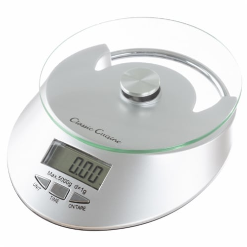 Kitchen Scale-Digital Electronic Food Weighing Appliance, 11LB. or 5000g Capacity-Measure Perspective: back