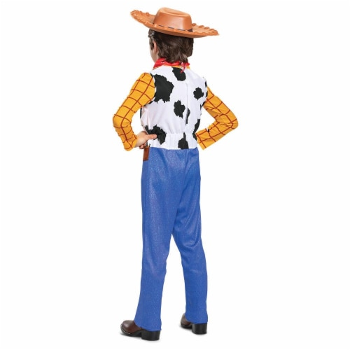 Woody Classic Toy Story 4 Child Costume (4-6) Perspective: back