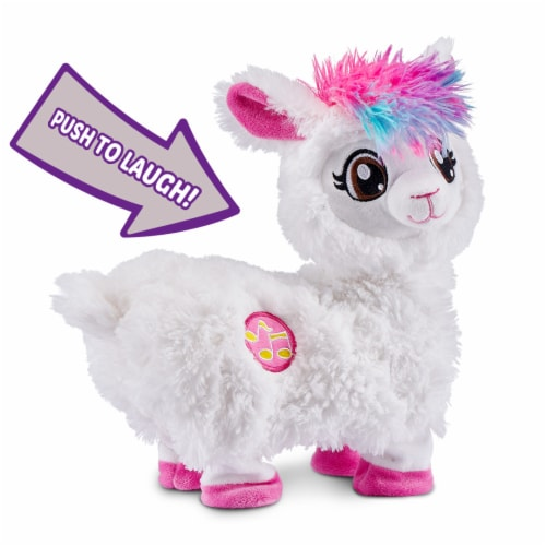 Zuru Pets Alive Dancing Boppi Llama Toy Perspective: back