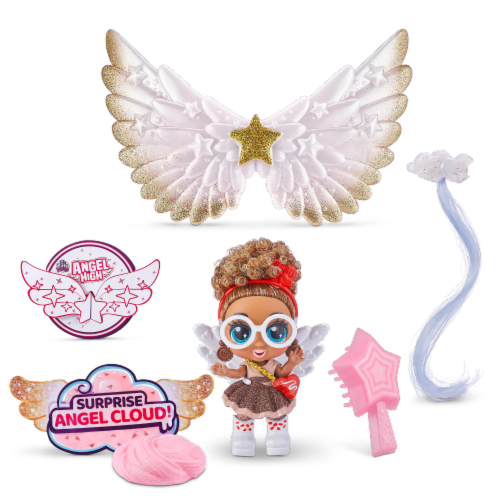 Zuru Angel High 10 Surprise Series 1 Doll Perspective: back