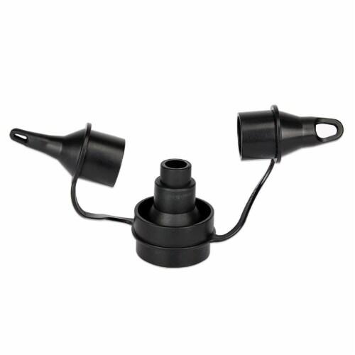 Intex 120V Quick Fill AC Electric Air Pump & Kidz Inflatable Air Bed Mattress Perspective: back