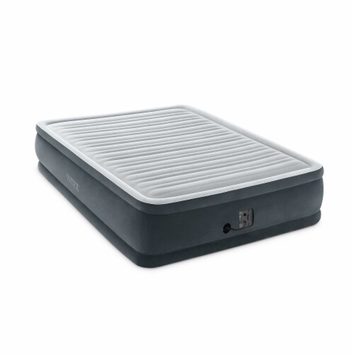 Intex Dura Beam Plus Series Elevated Airbed w/ Built-In Pump, Queen(6 Pack) Perspective: back