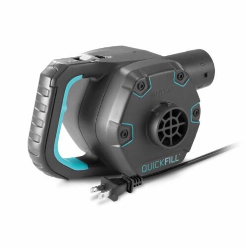 Intex Quick Fill 120 Volt AC Electric 38.9 CFM Inflatable Pump (2 Pack) Perspective: back