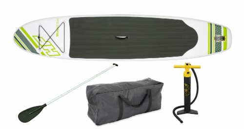 Bestway Hydro Force Wave Stand Up Paddle Board & 1-Person Sporty Kayak Perspective: back
