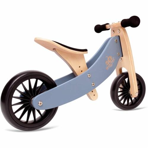 Kinderfeets Kid's Riding Toy Bundle w/Adjustable Helmet & Tiny Tot Balance Bike Perspective: back