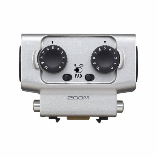 Zoom H5 Digital Audio Recorder Set with F1 Microphone and EXH6 Input Capsule Perspective: back