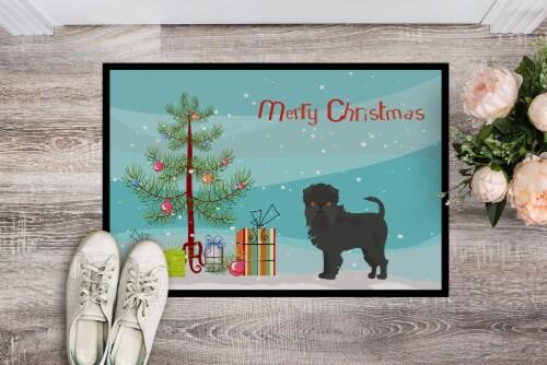 Carolines Treasures  CK3440JMAT Affenpinscher Christmas Tree Indoor or Outdoor M Perspective: back