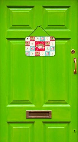 Carolines Treasures  CK5445DS812 Turkish Hamster Love Wall or Door Hanging Print Perspective: back