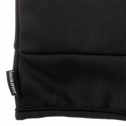 Isotoner® Men's Large Stretch Gloves - Black Perspective: back