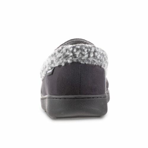 Isotoner® Men's Moccasin Slippers Perspective: back