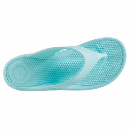Totes Womens Sol Bounce Ara Thong Sandals - Splash Perspective: back
