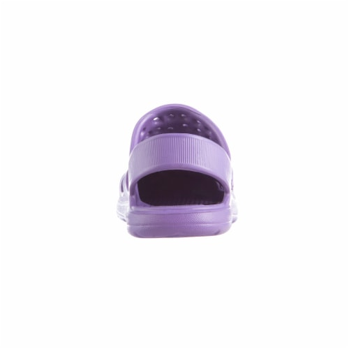 Totes Kids Splash and Play Clog - Paisley Purple Perspective: back