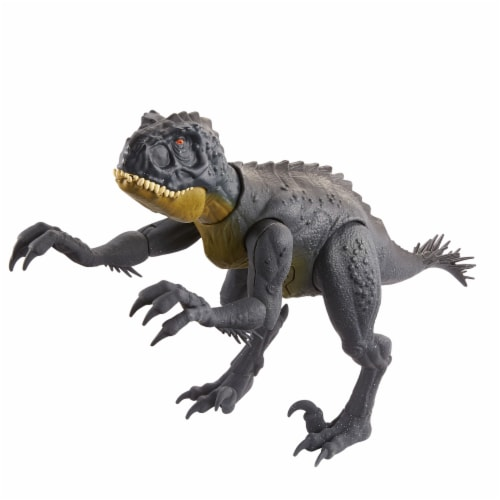Mattel Jurassic World Slash N Bash Scorpius Rex Action Figure Perspective: back