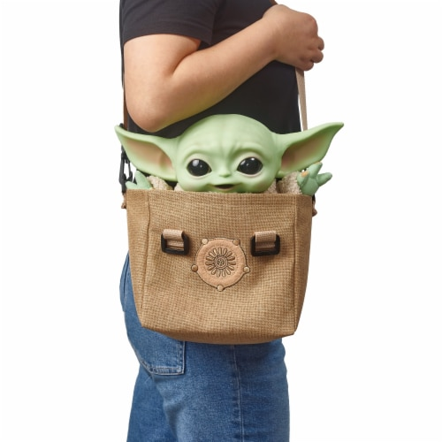 Mattel Star Wars The Mandalorian The Child Premium Plush Bundle Perspective: back